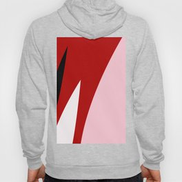 Abstract Flower Red #red #pink #artdeco #fresh #spring #minimal #art #design #kirovair #buyart #deco Hoody