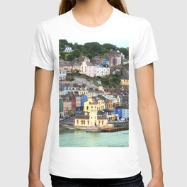 Colorful Cobh Ireland T-shirt