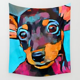 Miniature Pinscher Wall Tapestry