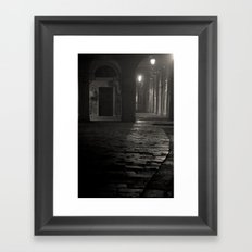 A piece of Venice Framed Art Print