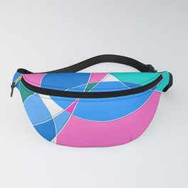 Abstract Wavy Visual Graphic Design V.1 Fanny Pack