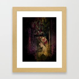 in the house of flies Framed Art Print