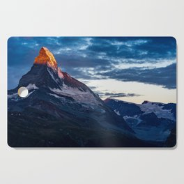 Zermatt, Switzerland #society6 #decor #buyart Cutting Board