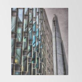 The Shard London Throw Blanket