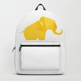 Origami Elephant Backpack