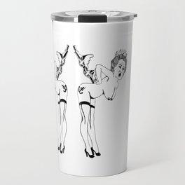 Pin up Queen  Travel Mug