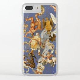 Fresco of the Villa Farnese, Lazio, Italy Clear iPhone Case
