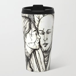 Elves and elfroot Travel Mug