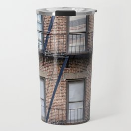 New York Fire Escape Travel Mug