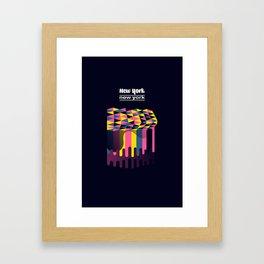 NYC - New York Framed Art Print