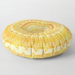 Sun Mandala 4 Floor Pillow