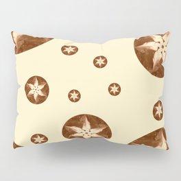 Coffee Flowers Pillow Sham