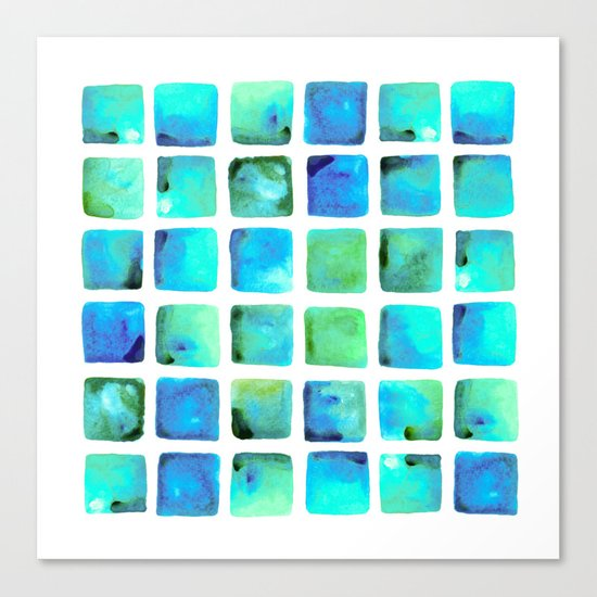 Seaweed Glow Canvas Print