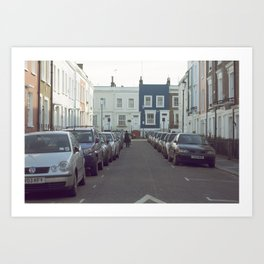 London Streets Art Print