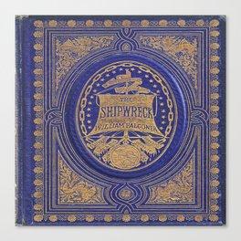 The Shipwreck Book Canvas Print