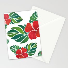 TropicalFlowers Stationery Cards