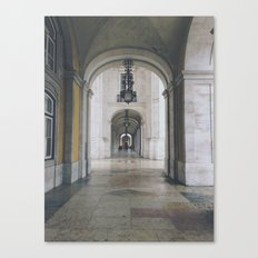 Terreiro do Paço. Lisbon, Portugal. Canvas Print