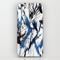 flight iPhone & iPod Skins featuring FLIGHT by Teresa Chipperfield Studios