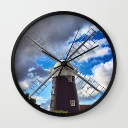 Stow Windmill Paston Wall Clock
