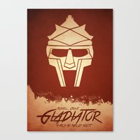 gladiator Canvas Prints featuring Gladiator by Anton Lundin