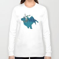 watch Long Sleeve T-shirts featuring Night watch by mangulica illustrations