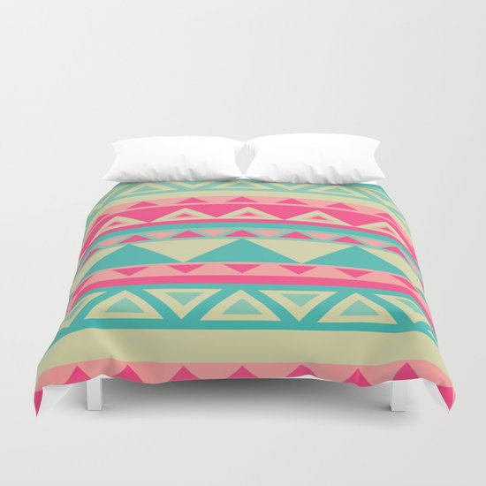 Tropical Tribal Duvet Cover