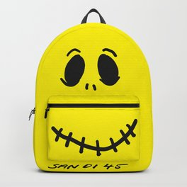 Hello Friend Yellow Backpack