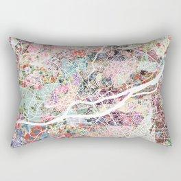 Nantes map Rectangular Pillow