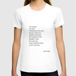 sad song T-shirt