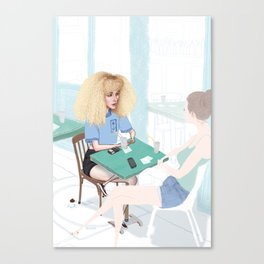 Les Parisiens - Clara le Bohème Canvas Print