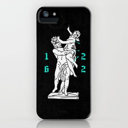 The Rape of Proserpina iPhone Case
