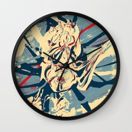 Spider-man Splat Wall Clock