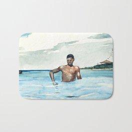 Winslow Homer - The Bather, 1899 Bath Mat