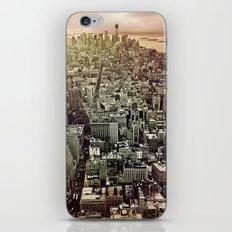 moody Manhattan iPhone & iPod Skin