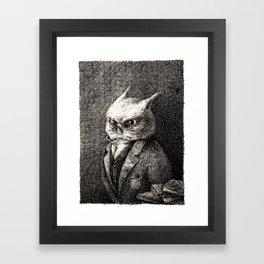 A Serious Hoot Framed Art Print