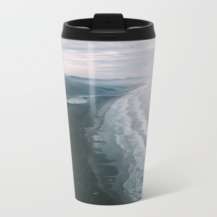 Oregon Coast VI Metal Travel Mug