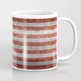 Flag of the United States of America in Retro Grunge Coffee Mug