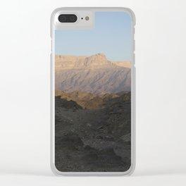 Dhofari Sunrise Clear iPhone Case