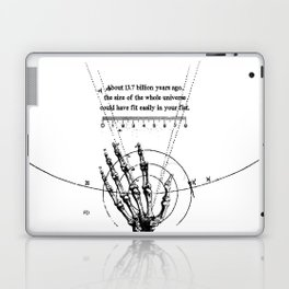A Universe in a fist. Laptop & iPad Skin