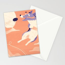 Ollie Goes Deep Stationery Cards
