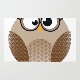 OWL KNOWS EVERYTHING Rug