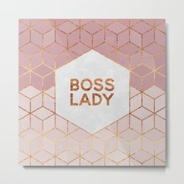 Boss Lady / 2 Metal Print