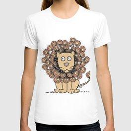 A Lion's Mane yellow T-shirt