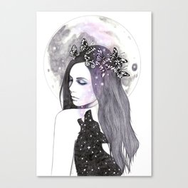 Looking For The Stars Canvas Print