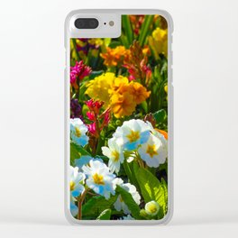 Fruity Bloomers Clear iPhone Case