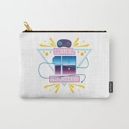 Level Up Typical Gamer Gaming Nerdy 18 Player Gift Carry-All Pouch