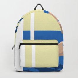 Art Deco Retro Summers Backpack