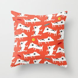 See Spot run Throw Pillow