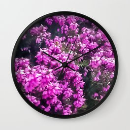 Spring is Blooming Wall Clock