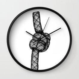 Stevedore Knot Wall Clock
